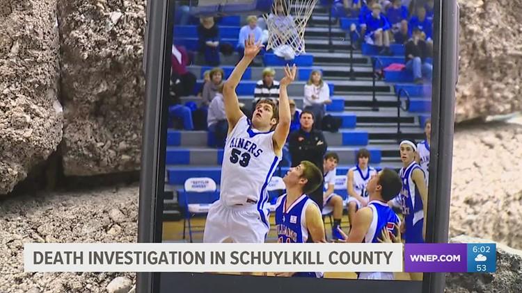 Death investigation in Schuylkill County