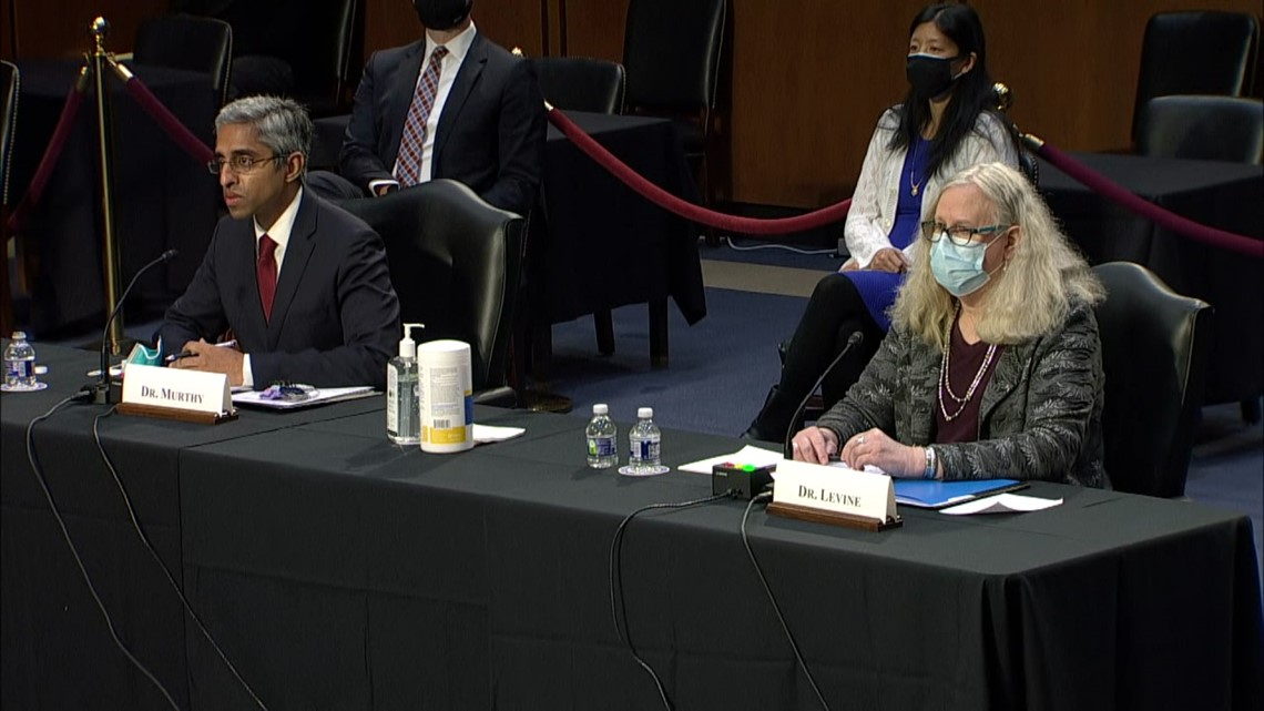 Dr. Levine's confirmation hearing begins