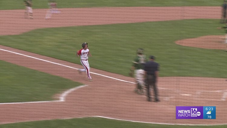 Wyoming Area took an early 3-0 lead, but New castle won the 'AAAA' HS State baseball Title, 7-3.