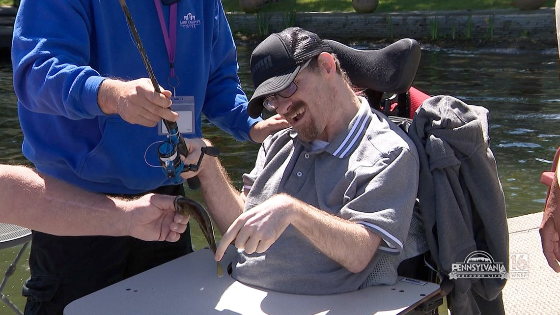 A Special Day of Fishing with St. Joseph's Center