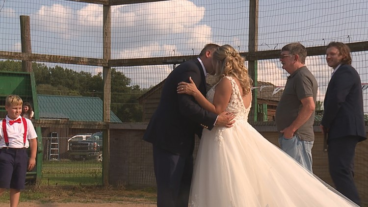 Woman surprises fiancé with wedding in Bradford County
