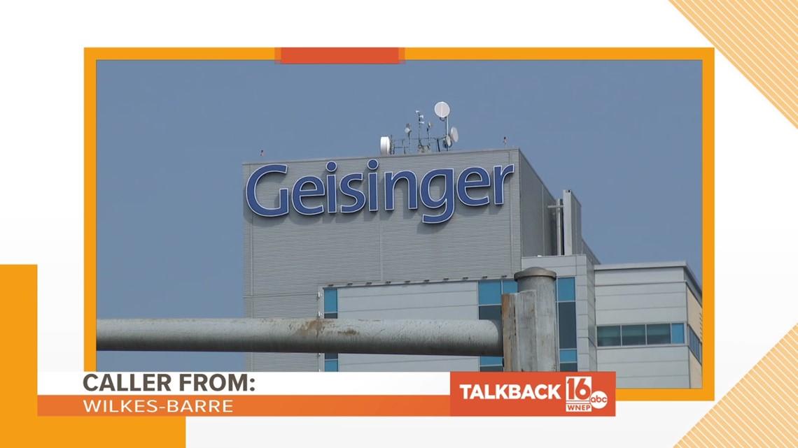 Talkback 16: Geisinger vaccine protest