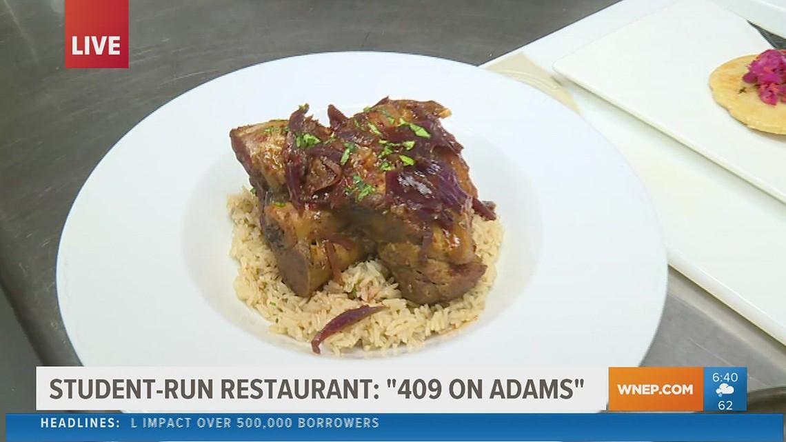 Student-run restaurant in Scranton serves up 5 star experience
