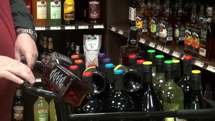 Two-bottle limit on certain booze in PA due to supply shortage