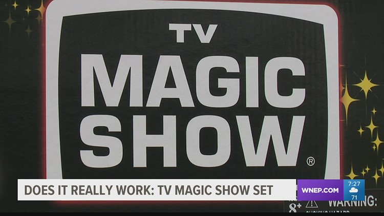 Does It Really Work: TV Magic Show Set