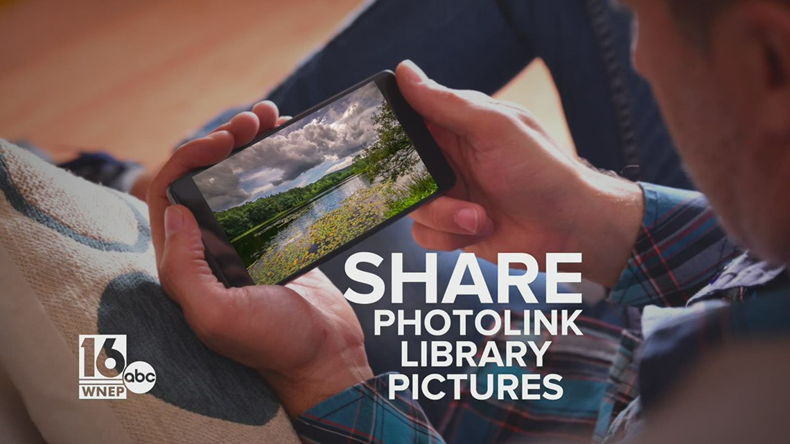 Share your photos to the PhotoLink Library with the WNEP app