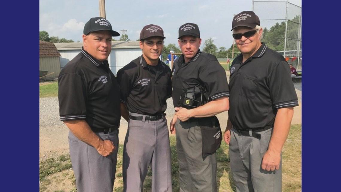 Schuylkill League Umpire Gets The Call To Head To The Senior League Baseball World Series