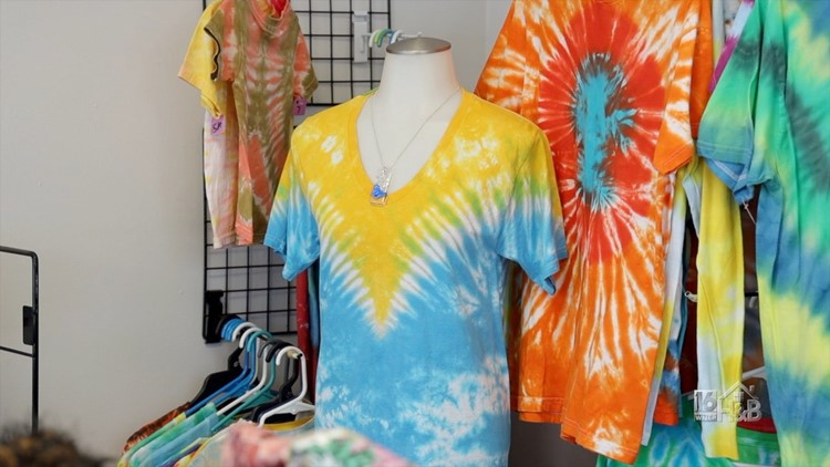 On Trend With Tie Dye
