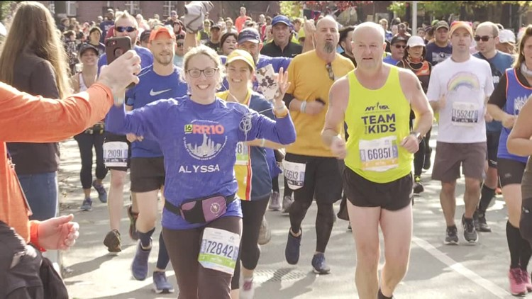 Our Charity Team Tackles the NYC Marathon