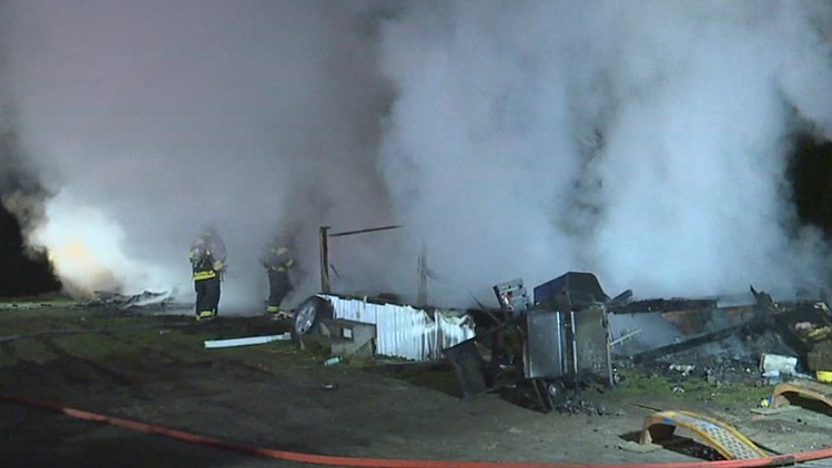 Fire guts mobile home in Susquehanna County