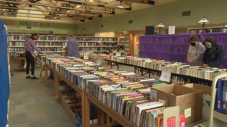 Book sale benefits library in Lackawanna County