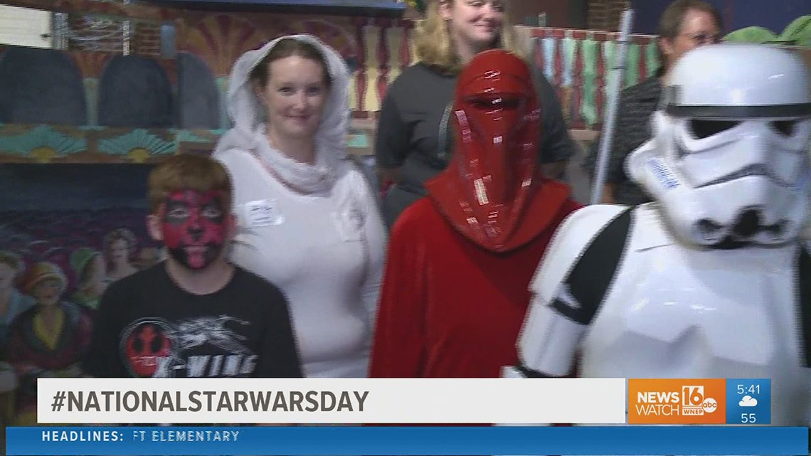 May the Fourth be with you! It's National Star Wars Day
