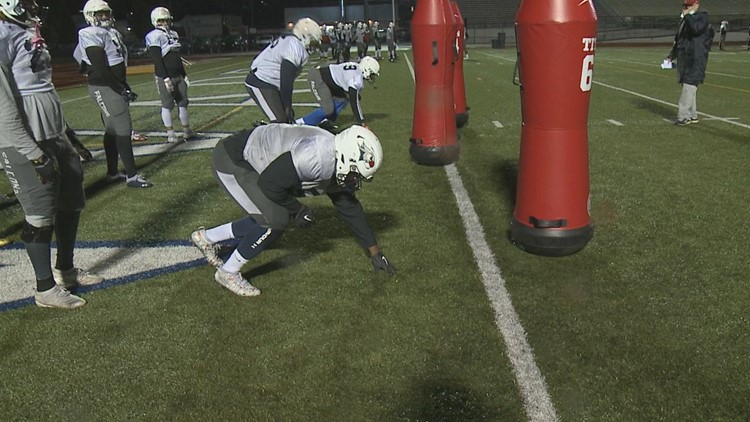 Lackawanna College Falcons Football Team Back On The Field For First Time Since December 2019