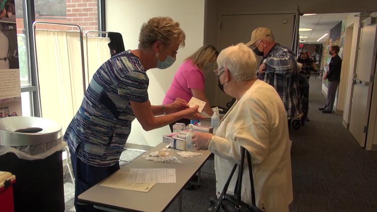 Johnson & Johnson vaccine clinic held in Wayne County