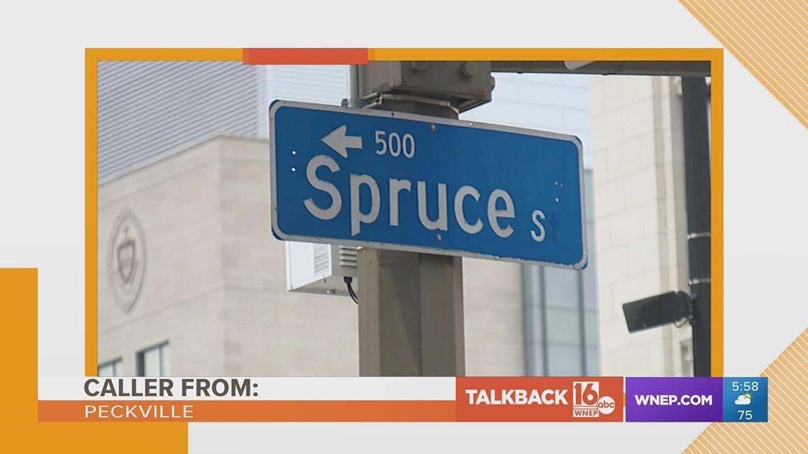 Talkback 16: More comments on renaming roads in Scranton