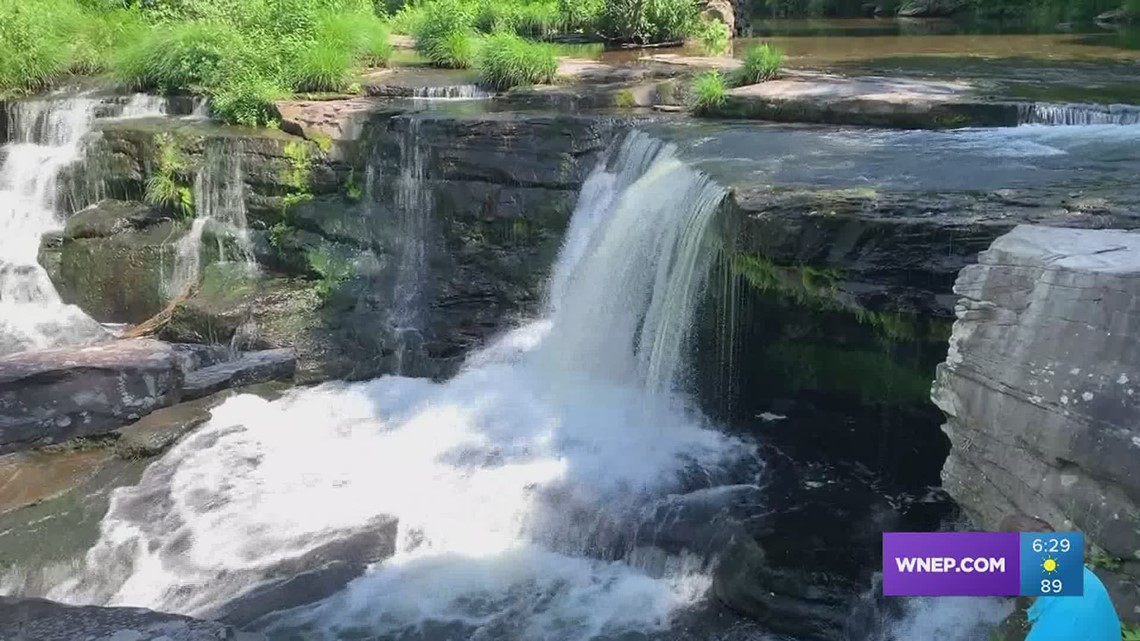 A visit to the falls On The Pennsylvania Road