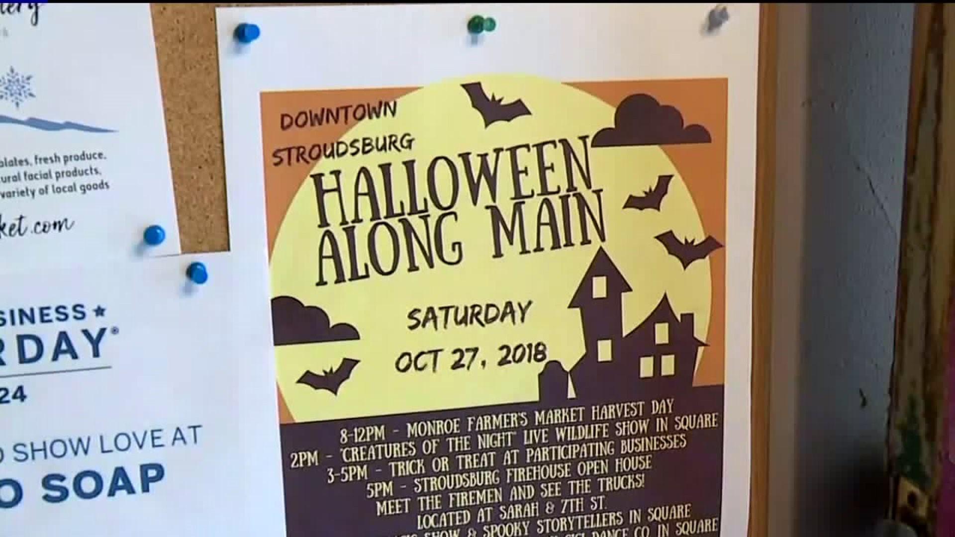 Renegade Winery Halloween 2020 Halloween Along Main' Still on in Stroudsburg   wnep.com