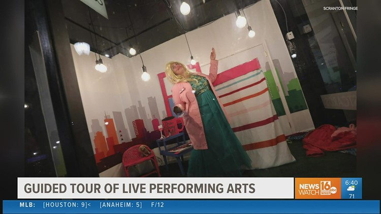 Fringe Under Glass - Scranton storefronts become stages for socially distant live theater