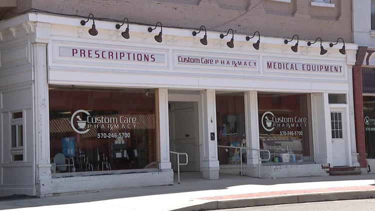Milton pharmacy giving COVID-19 vaccines