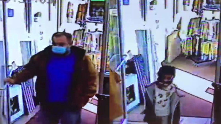 Police searching for person of interest in thefts near Bloomsburg