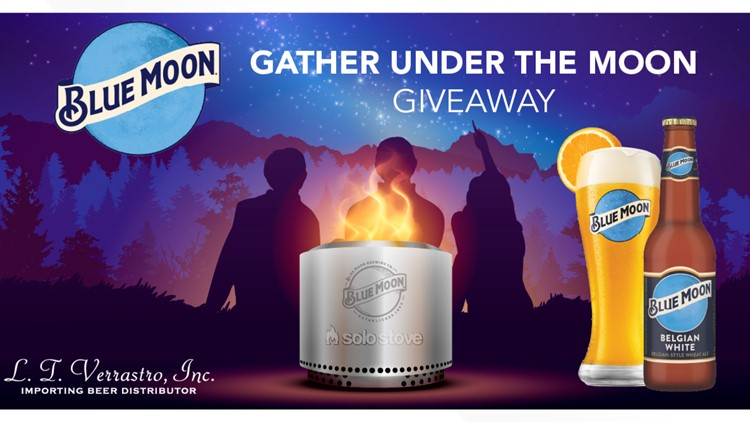 Blue Moon 'Gather Under the Moon' Solo Stove Fire Pit giveaway