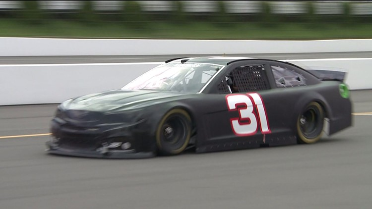 Video Vault: Ryan Newman talks about the Tricky Triangle