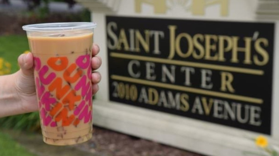 Iced Coffee Day at Dunkin' raises more than $33,000 for Go Joe 24, St. Joseph's Center