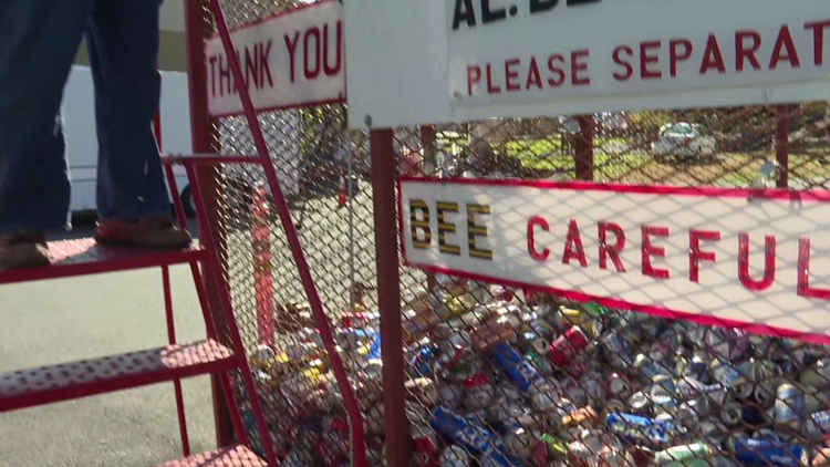 Power To Save: Fire company nearing four million cans recycled
