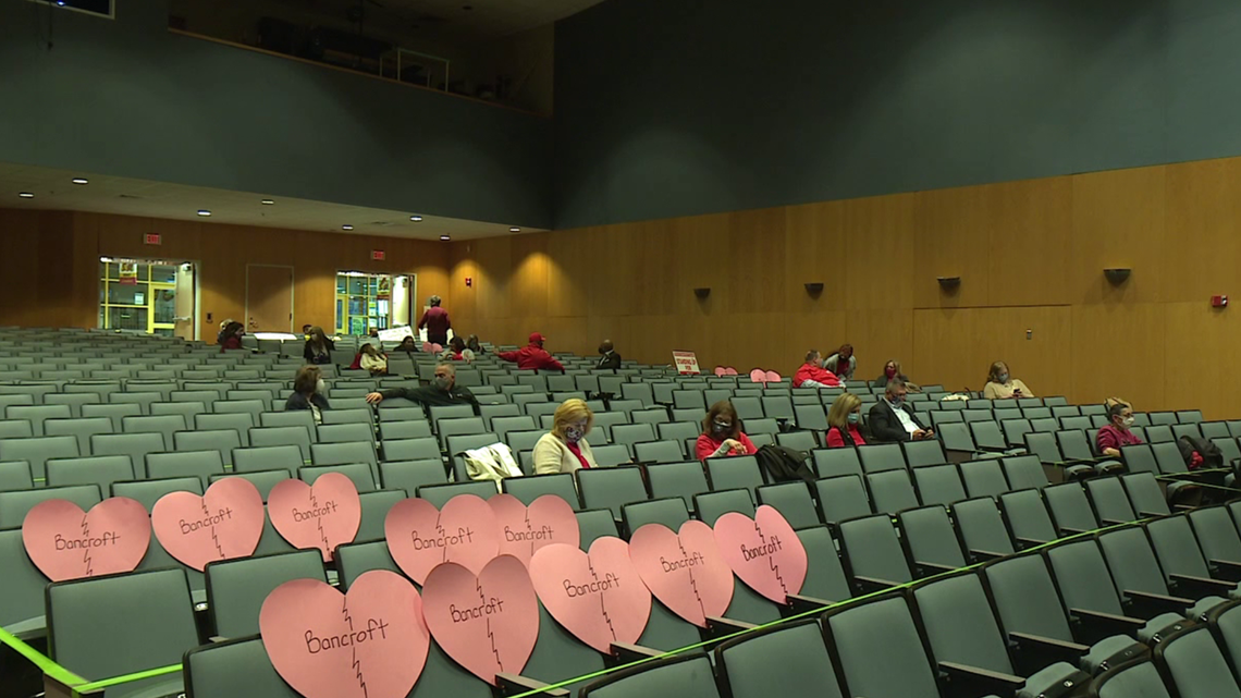 Community fights to keep Bancroft open, no decision reached by officials