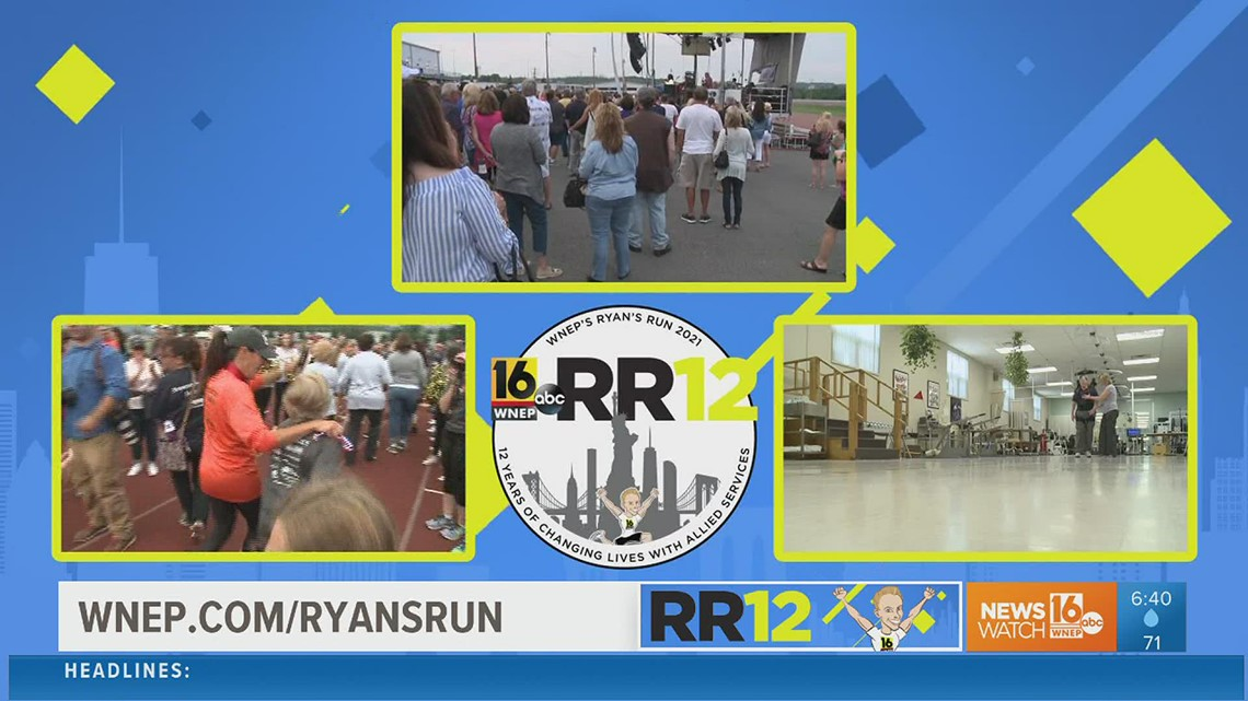WNEP's Ryan's Run 12 officially launches: see how your donations help people in our area