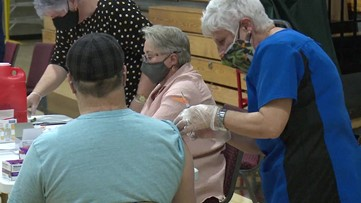Hundreds get second vaccine shot in the nick of time in Lackawanna County