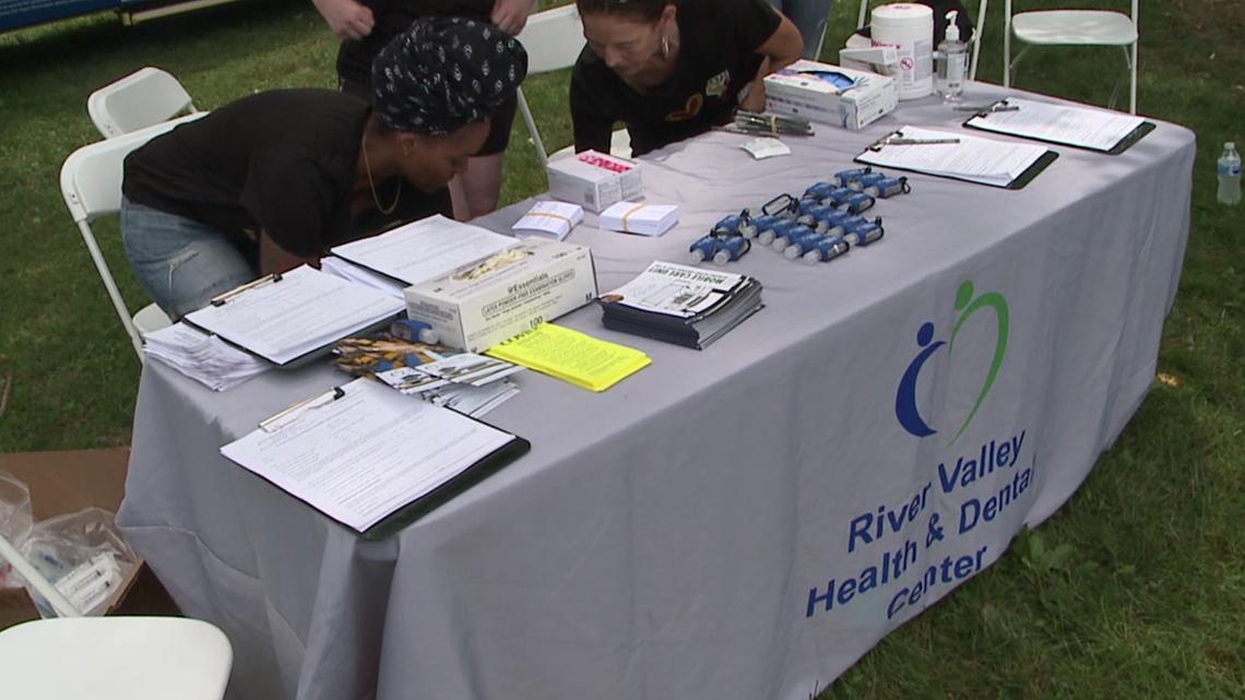 Vaccine clinic held in Williamsport