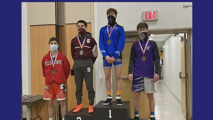 Four Wrestlers From Central Mountain High-School Capture Titles At the District 6 Wrestling Championships