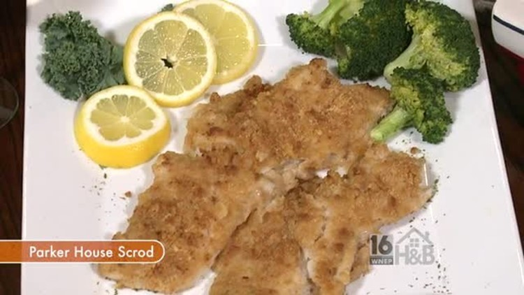 Parker House Scrod by Cooper's Seafood House