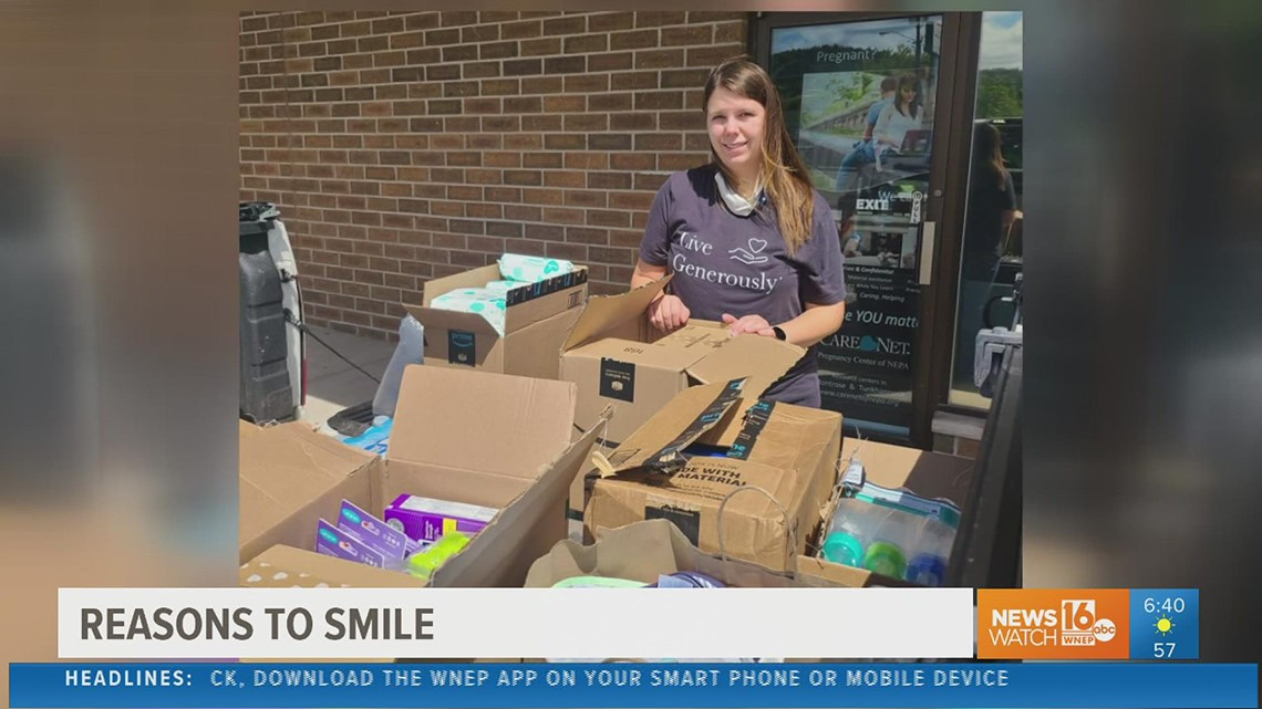 Reasons to smile: New mom from the Tunkhannock area launches project to help other parents