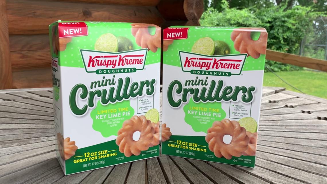 Taste Test: Krispy Kreme Key Lime Pie Mini-Crullers