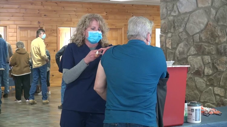 Doses of vaccine given in Wayne County