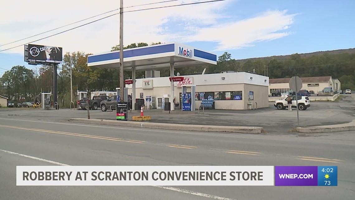 Police: Scranton convenience store robbed