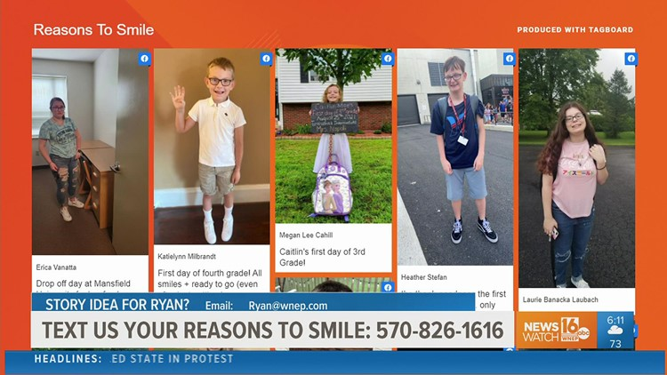 Reasons to smile: Back to school edition