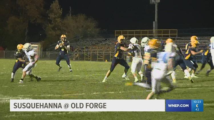 High School Football: Susquehanna vs Old Forge