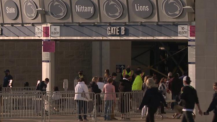 PSU welcomes fans back inside Beaver Stadium