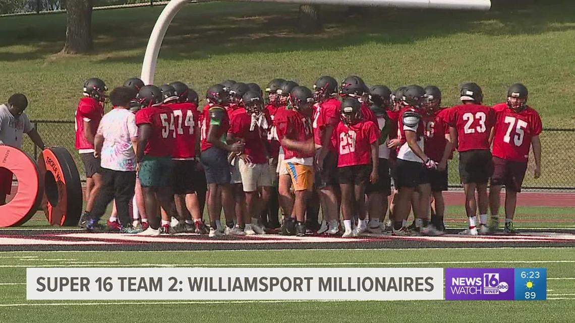 Super 16 Team 2: Williamsport Millionaires