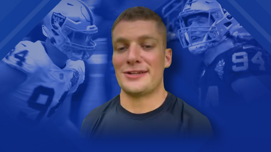 Carl Nassib: First openly gay active NFL player