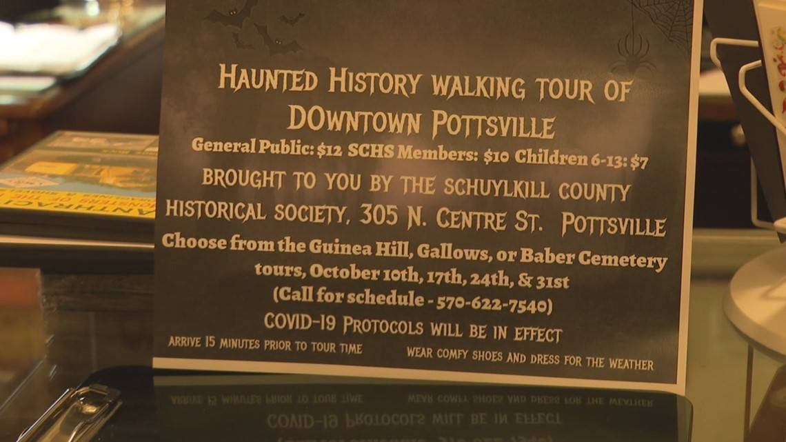 Www.October Halloween Events In Schuylkill County 2020 Haunted history tours in Pottsville | wnep.com