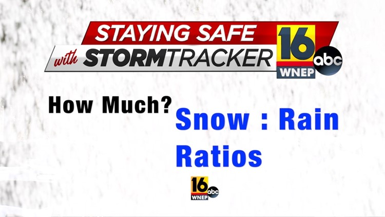 Staying Safe with Stormtracker 16: Ally gets the snow total figured out
