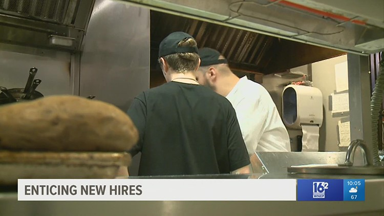 Businesses try to entice new hires as unemployment benefits come to an end