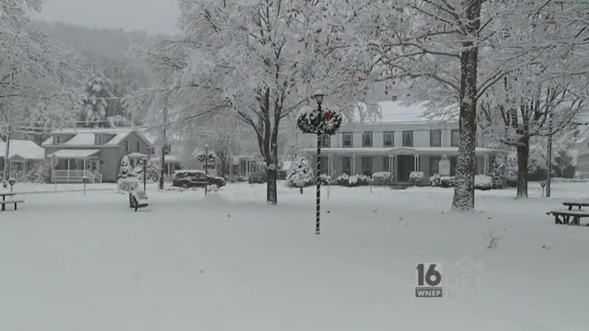 Winter Wonderland in Honesdale | wnep.com