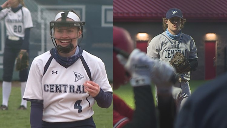 Pitchers Consentino, Davis Leading Central Columbia Softball, Baseball