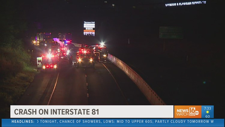 Police investigating after wrong-way crash on I-81