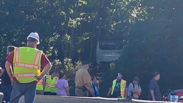 Bus crash in Schuylkill County